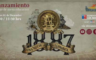 Sorteo lanzamiento «1887, Una Nueva Economía»